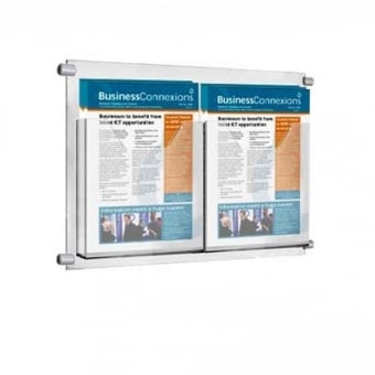 2 Pocket A5 Brochure Holder for Cable Kits - Portrait