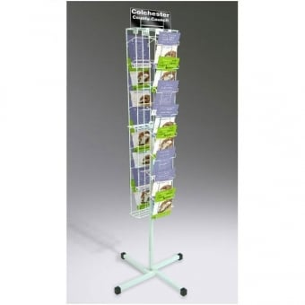 2 Sided 16 Pocket A5 Leaflet Carousel