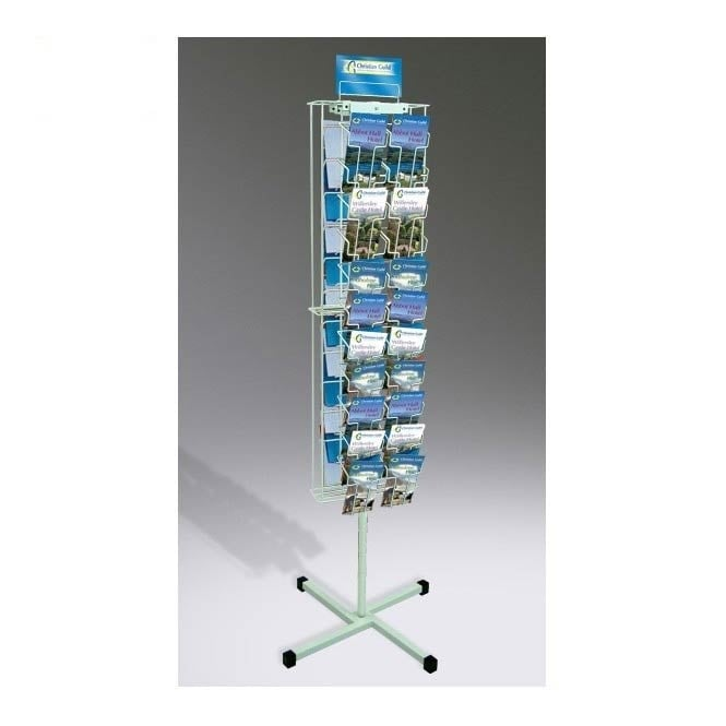2 Sided 44 Pocket DL Leaflet Carousel