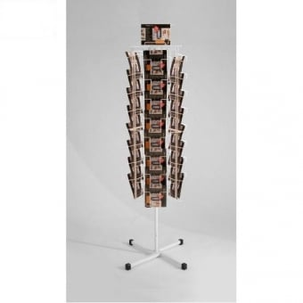 3 Sided 24 Pocket A5 Leaflet Carousel