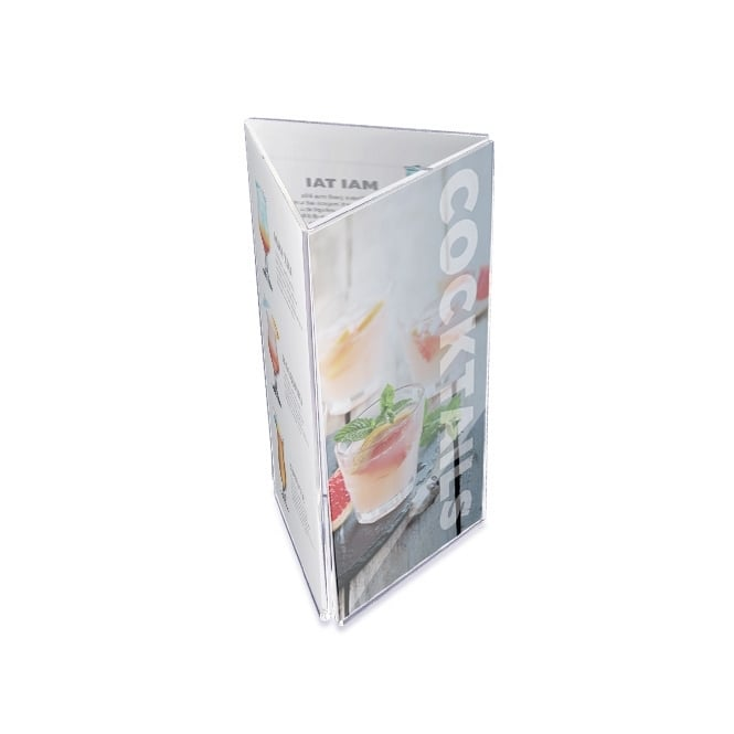 3 Sided DL Literature Holder - Portrait