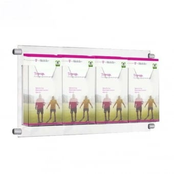 4 Pocket DL Leaflet Holder for Cable Kits - Portrait