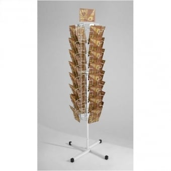 4 Sided 32 Pocket A5 Leaflet Carousel