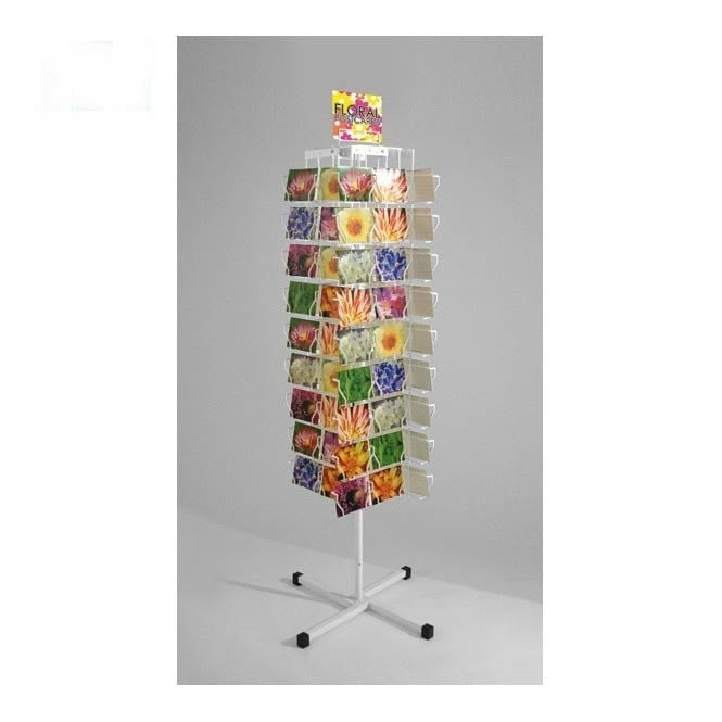 4 Sided 88 Pocket Postcard Carousel