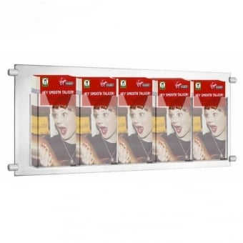 5 Pocket DL Leaflet Holder for Cable Kits - Portrait