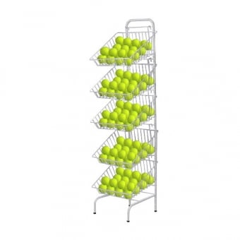 5 Tier Metal Basket Display Rack