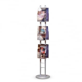 6 Pocket A4 Curved Brochure Stand