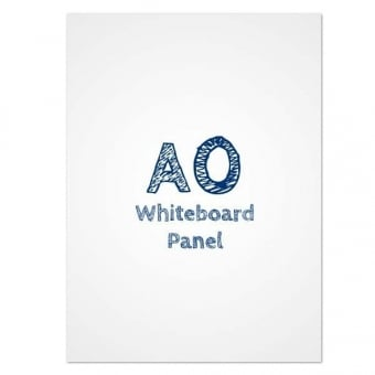 A0 Dry Wipe Whiteboard PVC Panel Insert