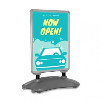 A0 Wind Resistant Poster Pavement Sign