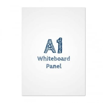 A1 Dry Wipe Whiteboard PVC Panel Insert