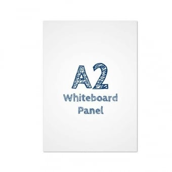A2 Dry Wipe Whiteboard PVC Panel Insert