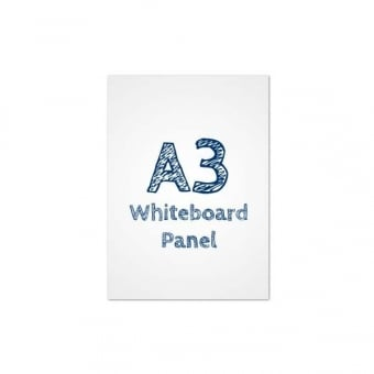 A3 Dry Wipe Whiteboard PVC Panel Insert