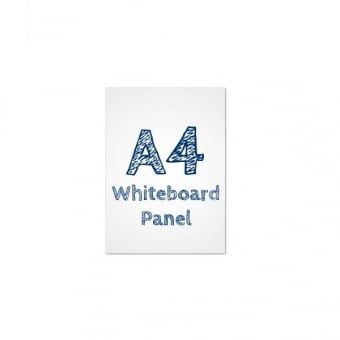 A4 Dry Wipe Whiteboard PVC Panel Insert