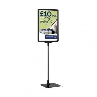 A4 Poster Display Stand, Adjustable Height