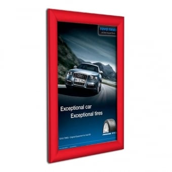 A4 Red Poster Snap Frame