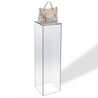 Clear Acrylic Pedestal Display - 1200mm