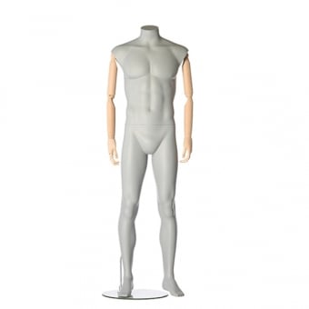 Headless Articulated Male Mannequin