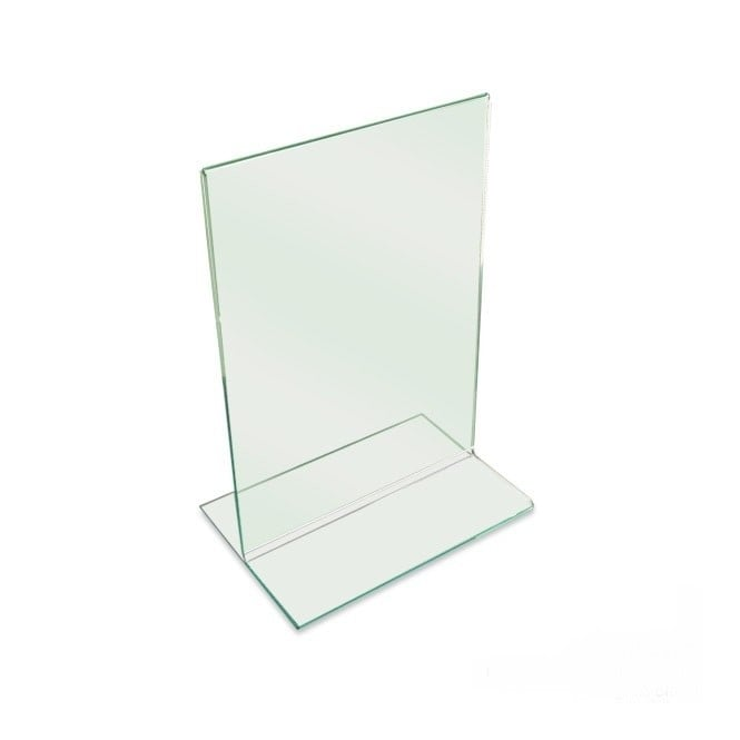 Double Sided Glass Effect A5 Literature Holder - Portrait