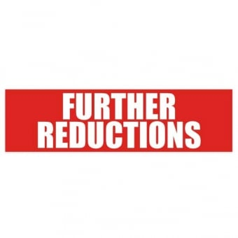 Further Reductions Sale Poster - 1000mm x 250mm