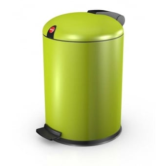 Design 4 Lime Cosmetic Waste Pedal Bin - 4L