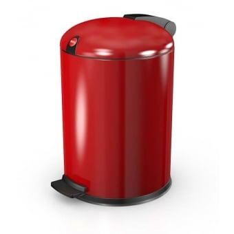 Design 4 Red Cosmetic Waste Pedal Bin - 4L