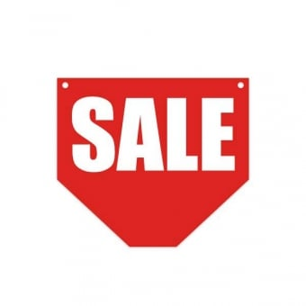 Hanging Sale Sign - Double Sided - 500mm x350mm