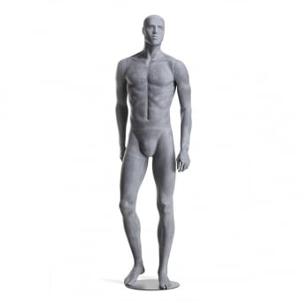 Raw Male Mannequin - Right Leg Forward