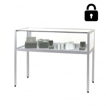 Lockable Glass Floor Standing Display Case