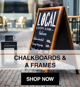 Chalkboards & A Boards