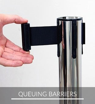 Queing Barriers IE