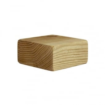 Natural Wooden Display Riser - 76mm