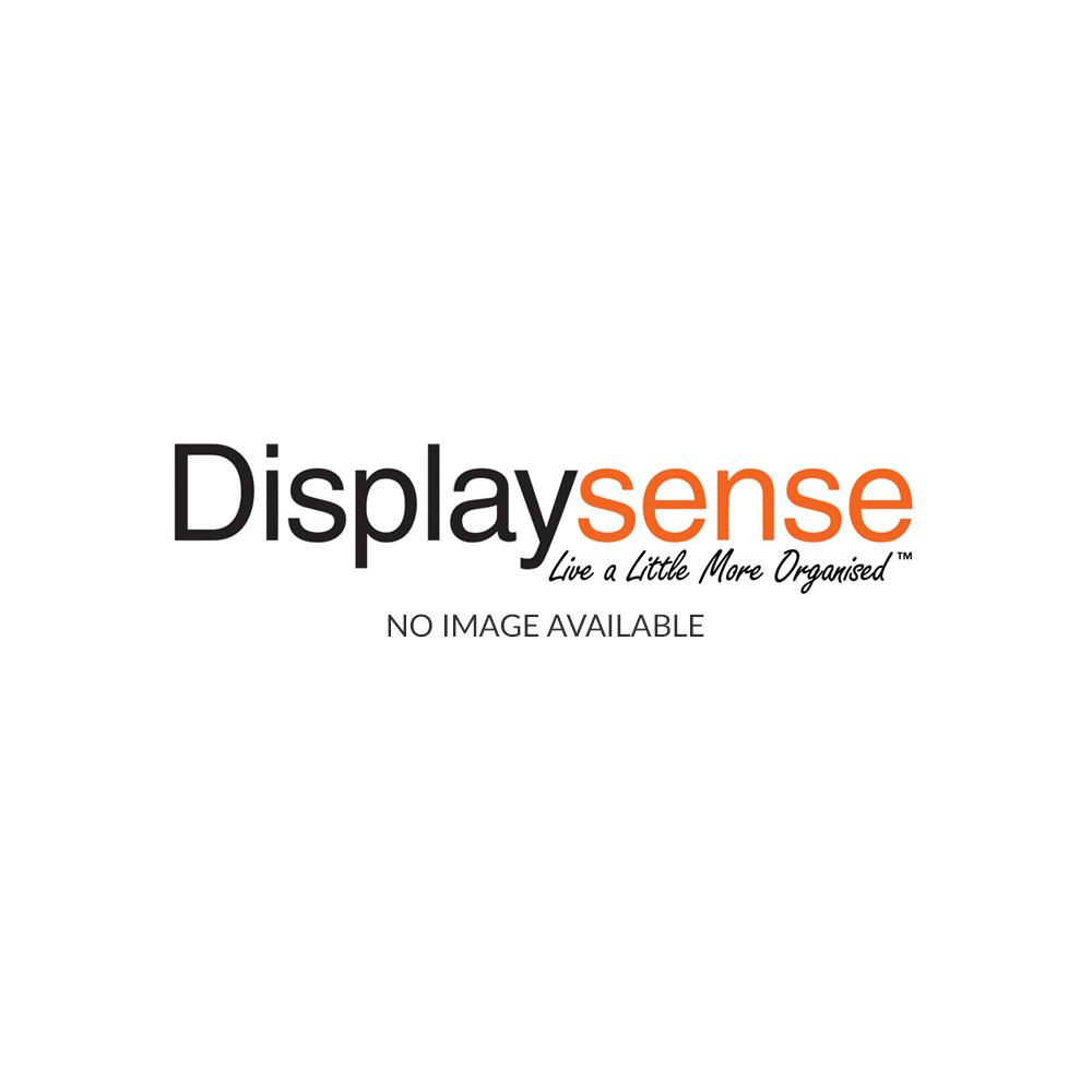 Oak Wall Mounted Glass Display Cabinet With Lighting Displaysense