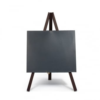 Pack of 3 Counter Top Mini Chalkboard with Easels - Black Wood