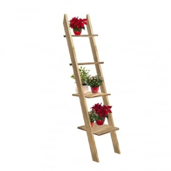 Rustic Ladder Display Stand