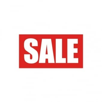 Sale Poster - Small - 500mm x 250mm - Pack of 5