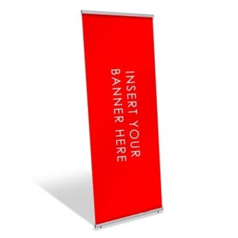 Single Sided Pull Up Banner Stand - 600mm