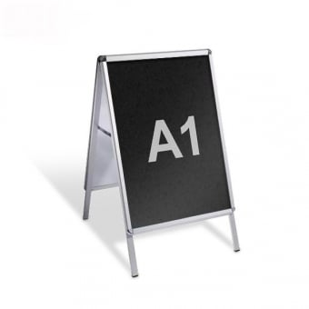 A1 A-Board Pavement Sign - Chalkboard Insert