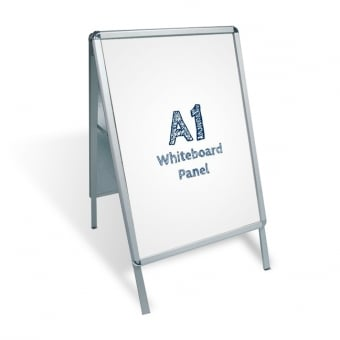 A1 A-Board Pavement Sign - Whiteboard Insert