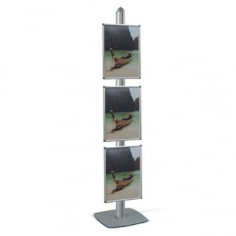 A3 Poster Stand with 3 Poster Frames - MFS Range