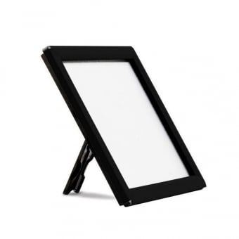 A5 Counter and Wall Mountable Black Snap Frame