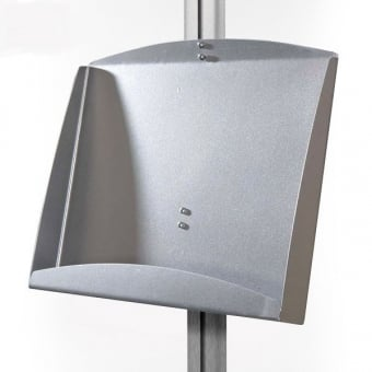 Double A4 Steel Brochure Holder for Display Stand - MFS Range