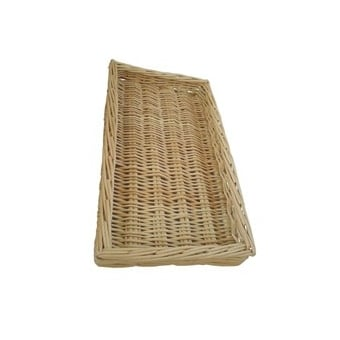 Wicker Food Display Basket - Large
